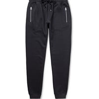 Dolce & Gabbana - Cotton and Silk-Blend Sweatpants | MR PORTER