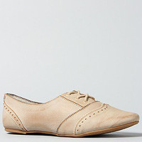 The Drum Roll Shoe in Cream