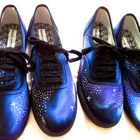 Spaced Out Galaxy Print Shoes. Men and Women