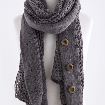 Button Nose Scarf