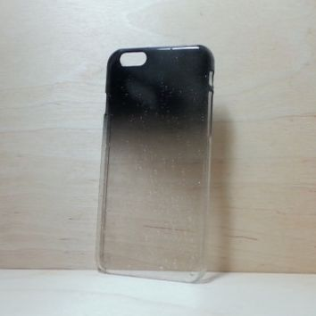 3D Water Droplets Hard Plastic Case for iPhone 6 (4.7 inches) - Black