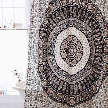 Magical Thinking Paisley Medallion Shower Curtain  Urban