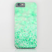 Sweetly Mint iPhone & iPod Case by Lisa Argyropoulos