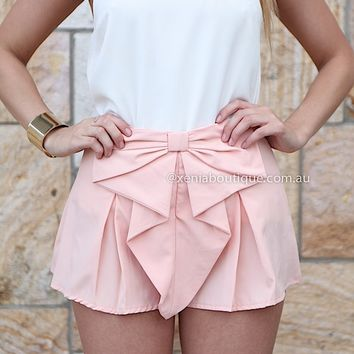 BOW SHORTS , DRESSES, TOPS, BOTTOMS, JACKETS & JUMPERS, ACCESSORIES, $10 SPRING SALE, PRE ORDER, NEW ARRIVALS, PLAYSUIT, GIFT VOUCHER, $30 AND UNDER SALE,,SHORTS Australia, Queensland, Brisbane