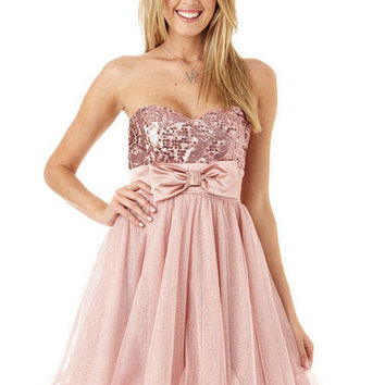 Rose Tulle Dress