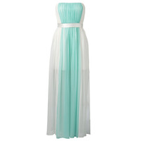 June Panelled Strapless Maxi Dress - Forever New