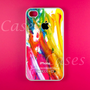 Colorful Paint Iphone 4s Case, Iphone Case, Iphone 4 Case