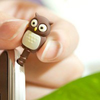 INFMETRY:: Cartoon Earphone Jack Ear Cap - Electronics