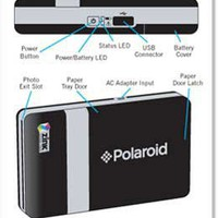 Amazon.com: Polaroid CZA-20011B PoGo Instant Mobile Printer (Black): Camera & Photo
