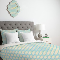 Sabine Reinhart Into The Sky Duvet Cover Luxe QUEEN Sample Sale - Luxe Duvet Cover / Queen / Duvet Cover Only