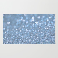Baby Baby Blue Rug by Lisa Argyropoulos
