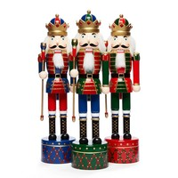 Assorted Traditional Musical Soldier Nutcrackers