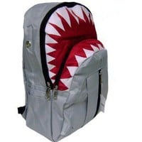 Amazon.com: New Shark Gray Backpack: Sports & Outdoors