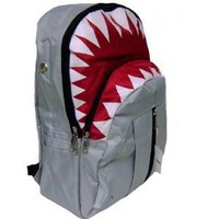 Amazon.com: New Shark Gray Backpack: Sports &amp; Outdoors