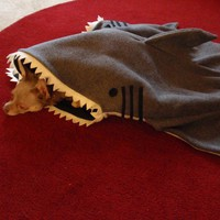 Simon The Shark Pet Cosy Silly Pet Blanket / by rikarika on Etsy