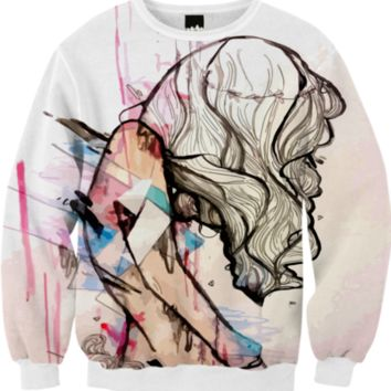 Collapsing Structures Sweater created by artofprincessm | Print All Over Me