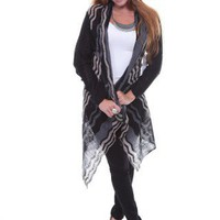 RD International Long Sleeve Shawl SweaterEmily Sky Fashions | Emily Sky Fashions