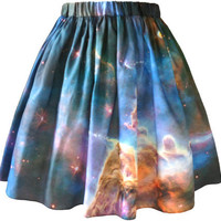 Mystic Mountain Nebula Skirt.