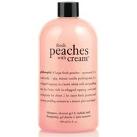Philosophy_fresh_peaches_with_cream shower gel/shampoo/bodywash