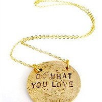Alisa Michelle Love What You Do Necklace