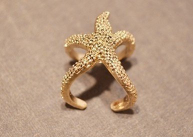 Cute Starfish Ring