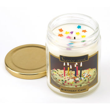 Birthday Cake Scent Candle  Birthday Cake Scent Candle