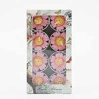 Pink Flower T-Light Candles - Urban Outfitters