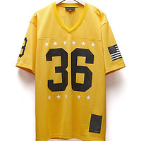 Black Scale Blvck Football Jersey at PacSun.com