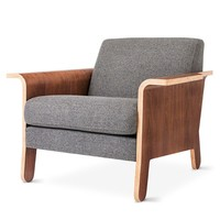 Lodge Lounge Chair by Gus* Modern