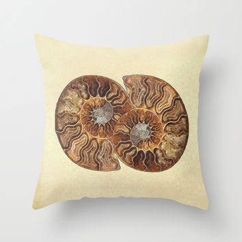 HISTORY IN MY HAND Throw Pillow by Catspaws