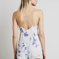 Free People Washed Up Romper