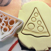 TMNT Pizza Krang Cookie Cutter - Made from Biodegradable Material