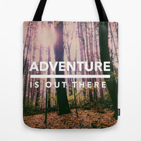 Adventure Is Out There Tote Bag by Olivia Joy StClaire