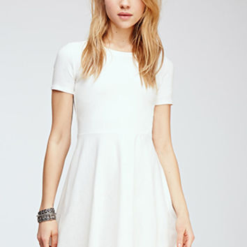 Fit   Flare Tee Dress