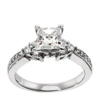 Engagement Rings   Solitare Accent   Casey Engagement Ring