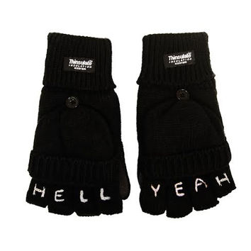 Hell Yea Knuckle Tattoo Gloves