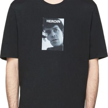 Black 'Heroin' T-Shirt