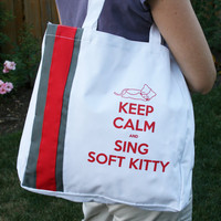 Big Bang Theory Inspired Soft Kitty Tote Bag