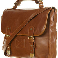 RETRO BUCKLE SATCHEL - Bags & Purses - Accessories - Topshop