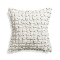 "Willa Blanc 20"" Pillow with Down-Alternative insert"
