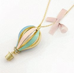 Hot Air Balloon Fashion Necklace | LilyFair Jewelry