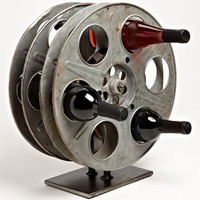 Moss Studios Film Reel Wine Rack | Nordstrom