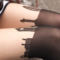 London Skyline Tights