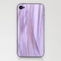 Purple curtain iPhone &amp; iPod Skin by NOVEMBERKIND Flowerdreams | Society6