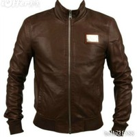 iOffer: MILANO D&G MENS LEATHER JACKET for sale