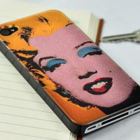 New Fashion Icon Monroe iPhone 4/4S Case