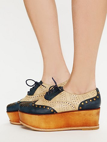 Free People Ness Stacked Wingtip