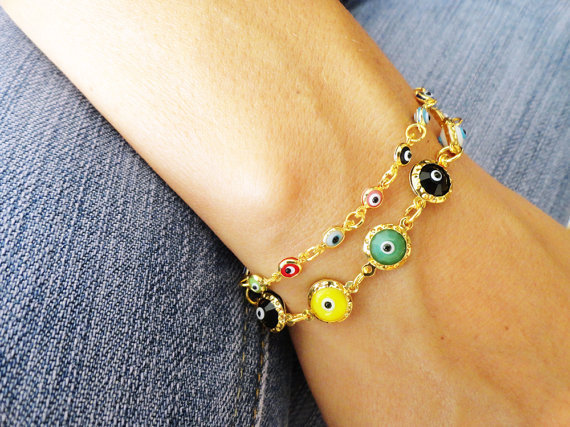 Mother and daughter matching evil eye bracelets, evil eye bracelets, mommy and me, mom and daughter, evil eye jewelry, mother birthday