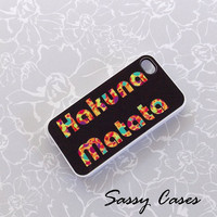 Hakuna Matata iPhone 4 / 4S Case by Sassy Cases