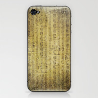 Music is what feelings sound like iPhone &amp; iPod Skin by Sylvia Cook Photography | Society6